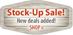 Stock Up! Shop Now