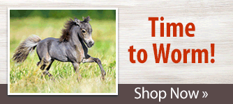 MiniTack can help protect and prevent your horse with trusted brands worming regimen. Shop Now