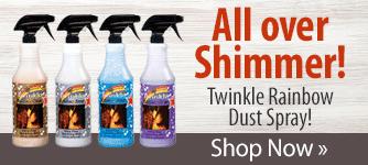 Twinkle Rainbow Dust Spray! Shop Now