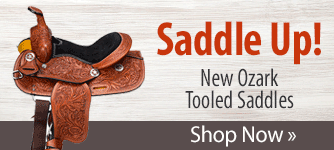 New Ozark Tooled Saddles! Shop Now