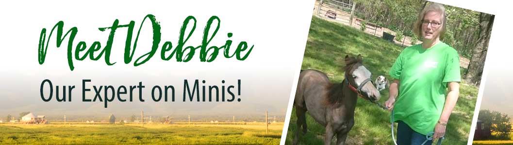 Meet Debbie! Our expert on minis!