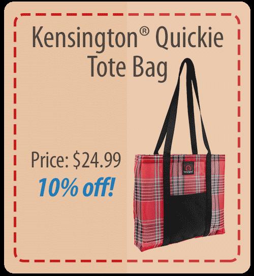 Kensington Quickie Tote