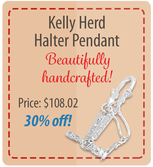 Kelly Herd Halter Pendant