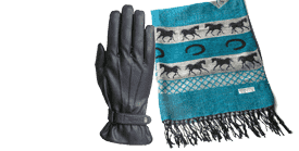 Gloves, Hats & Accessories