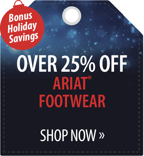 Over 25% off Ariat� Footwear