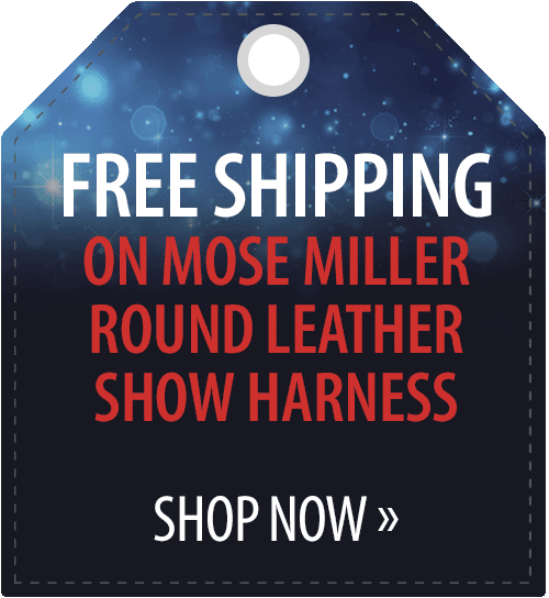 Free shipping on Mose Miller Round Leather Show Harness