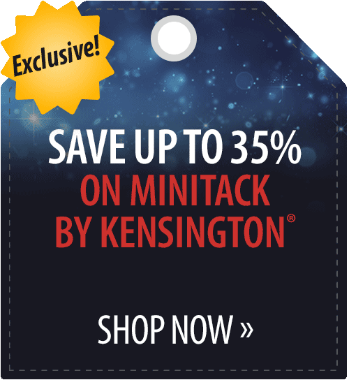 Save up to 35% on MiniTack by Kensington�