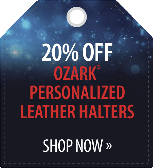 20% off Ozark� Personalized Leather Halters