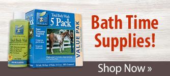 Bath Time Supplies. Shop Now
