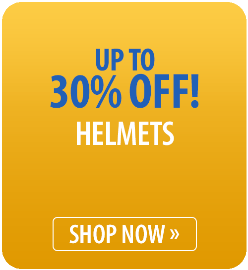 Up to 30% off Helmets