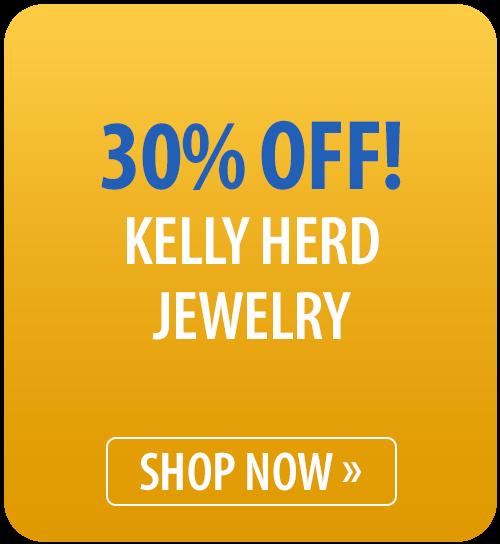 30% off Kelly Herd Jewelry