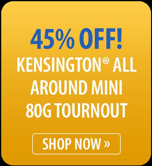 Kensington® All Around Mini 80g Turnout