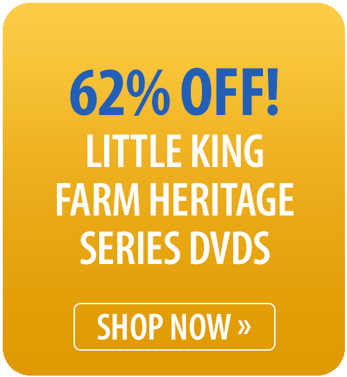 Little King Farm Heritage Series DVDs