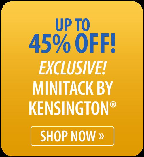 Exclusive! MiniTack by Kensington®