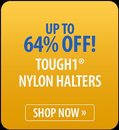 Tough1® Nylon Halters