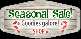 Seasonal Sale! Shop Now