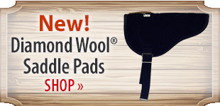 Diamond Wool® Saddle Pads! Shop Now