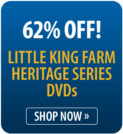 62% off Little King Farm Heritage Series DVDs