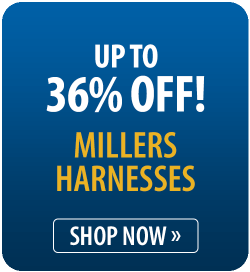 Up to 36% off Millers Harnesses