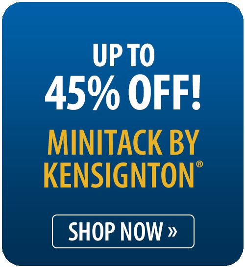 Up to 45% off MiniTack by Kensington�