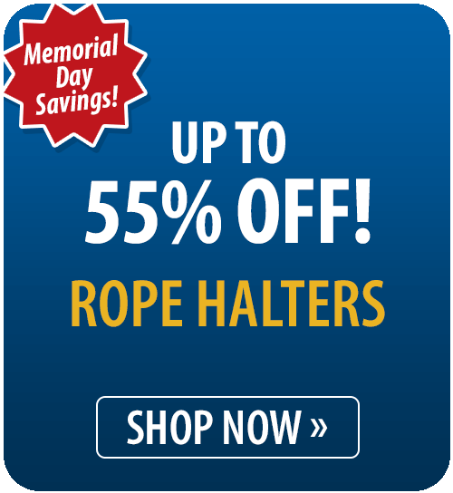 Up to 55% off Rope Halters