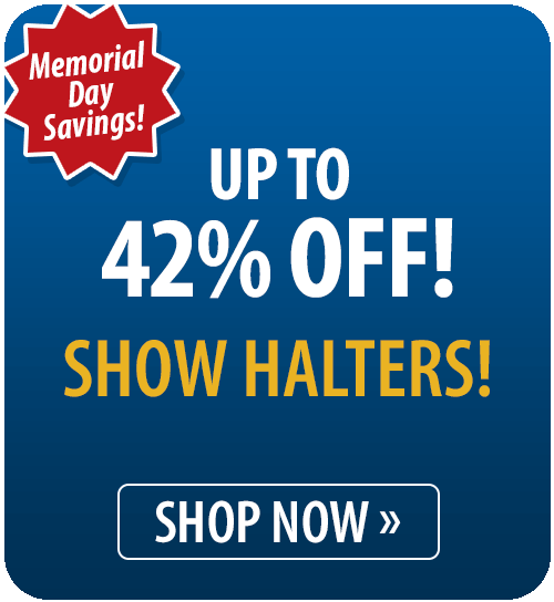 Up to 42% off Show Halters!