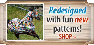 Sleazy Sleepwear for Horses! Shop Now