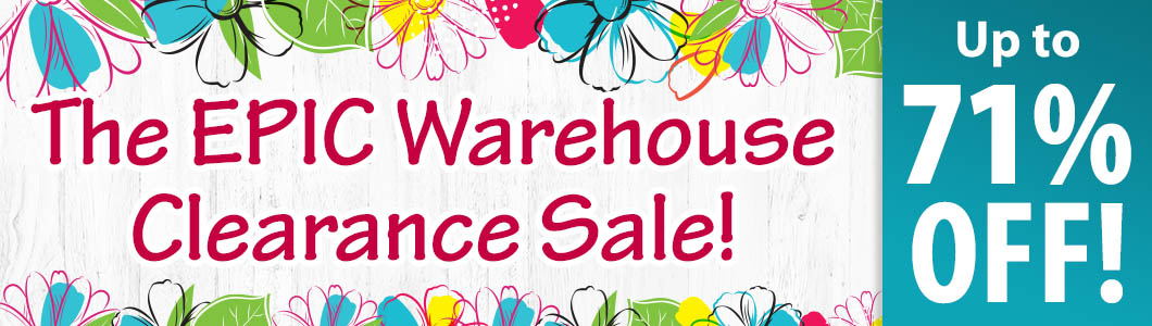 The Epic Warehouse Clearance Sale!