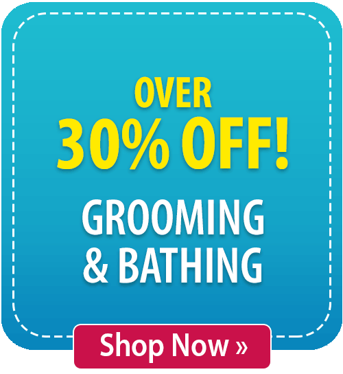 Over 30% off Grooming & Bathing!