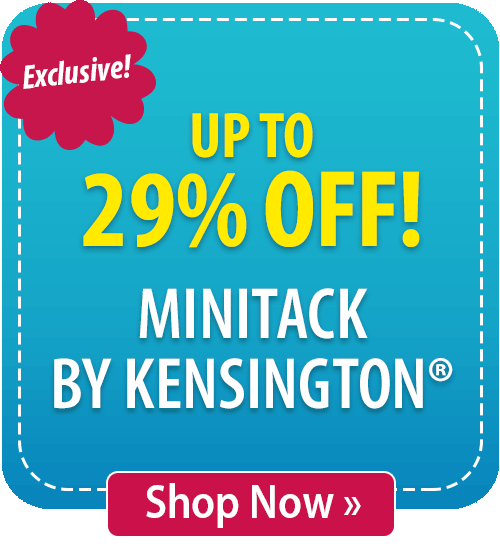 Up to 29% off MiniTack by Kensington®