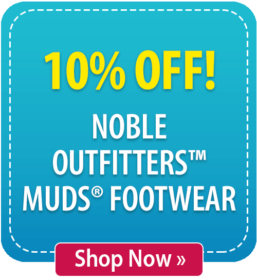 10% off Noble Outfitters™ MUDS® Footwear