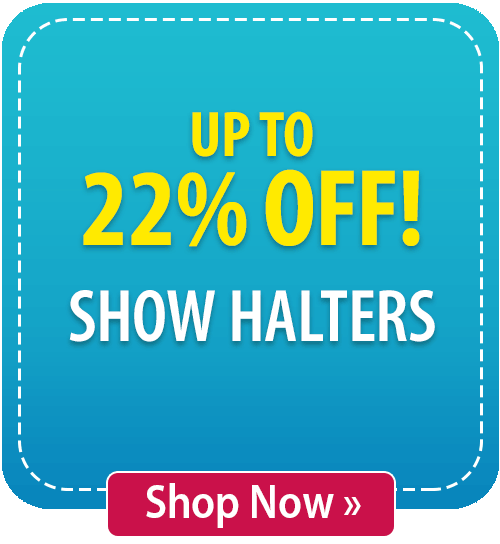 Up to 22% off Show Halters!