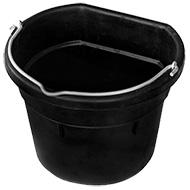 Farm Innovators Heated Rubber Flat-Back Bucket